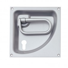 KWS Flush Ring Handle - 170mm x 170mm With Keyway
