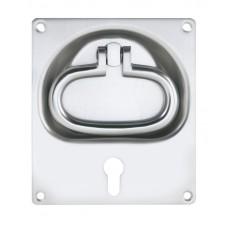 KWS Flush Ring Handle - 145 x 165mm