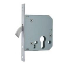 D&E APC PZ MORTICE SLIDING DOOR LOCK - 55MM B/S - SQFE - SSS