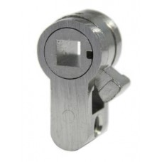 D&E APC EURO CYLINDER PLUG ADAPTER - 6MM FOLLOWER (For use with 6mm WC thumbturns)