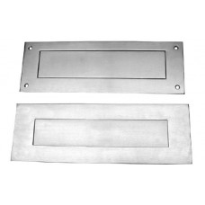 D&E Stainless Steel Commercial Letter Plate Set.