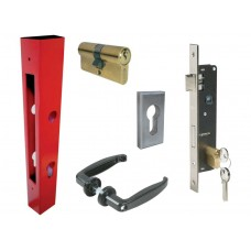 D&E Lock & Keep Post Set 20mm or 25mm Backset