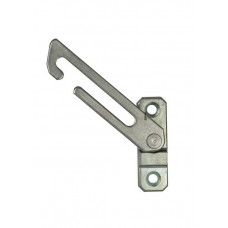D&E Concealed Fix Window Restrictor - LH or RH - Natural Finish